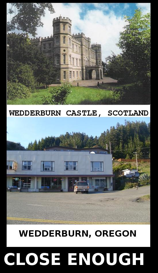 Weddernburn Close Enough
