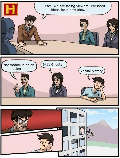 Boardroom Suggestion - History Channel