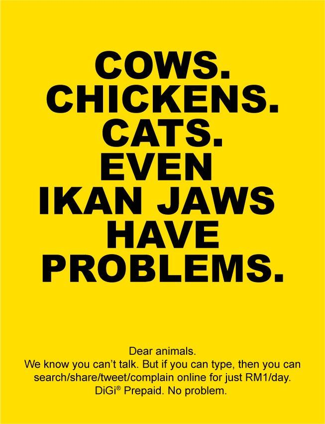 Digi Telecomunications - Animals Have Problems
