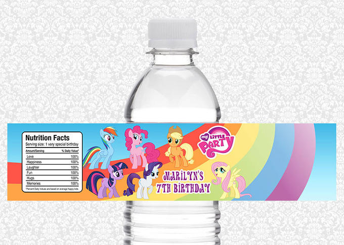 100% bottle of poni