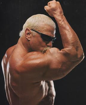 Scott Steiner kaepernicking?