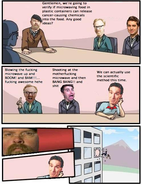 Boardroom Suggestion - Mythbusters