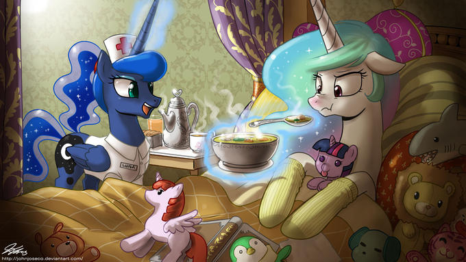 Nurse Luna to the Rescue