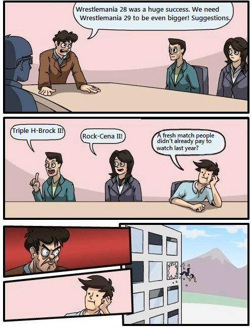 Boardroom Suggestion - WWE