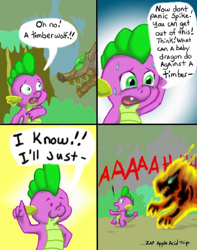 Spike has a great idea