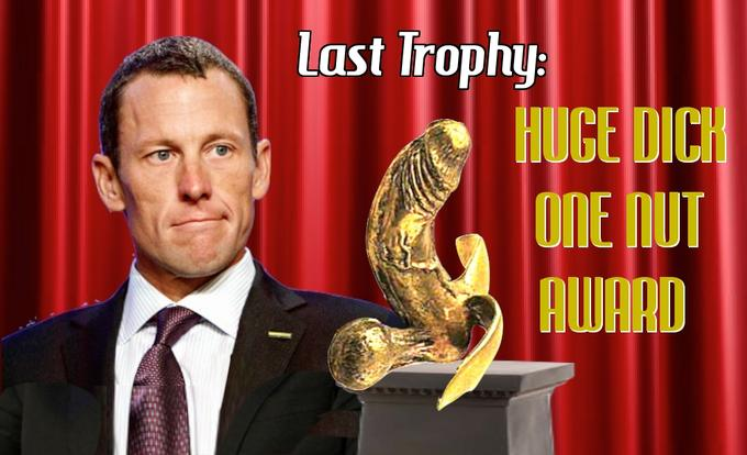 Huge dick award