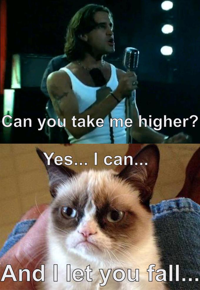 Can you take me Grumpy?