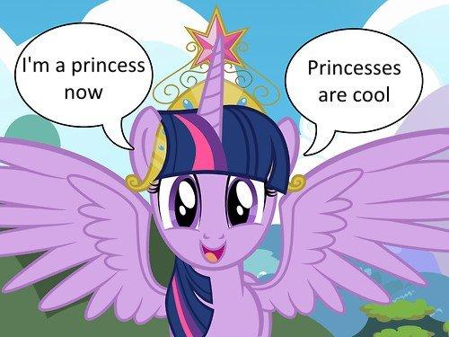 She's a princess