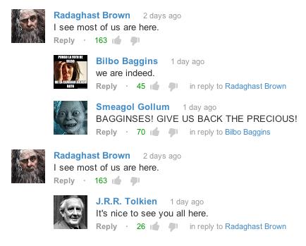 Tolkien Returns