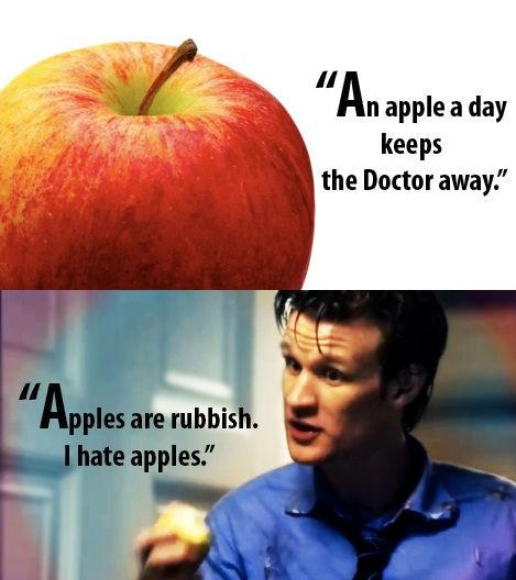 Never eat apples again