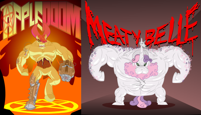 Apple Doom & Meaty Belle