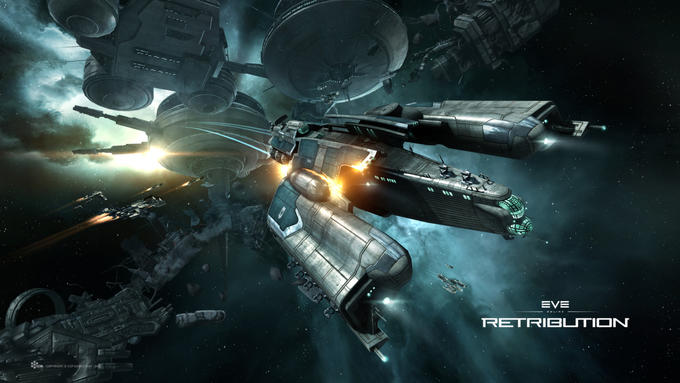 EVE Online: Retribution - Algos Destroyer