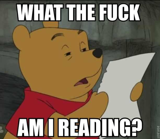 What the Fuck Am I Reading Pooh