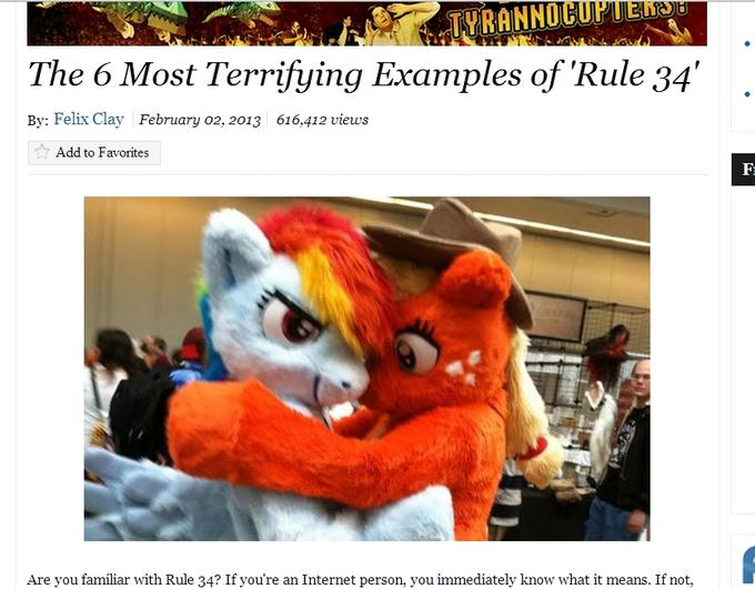 Cracked article on R34