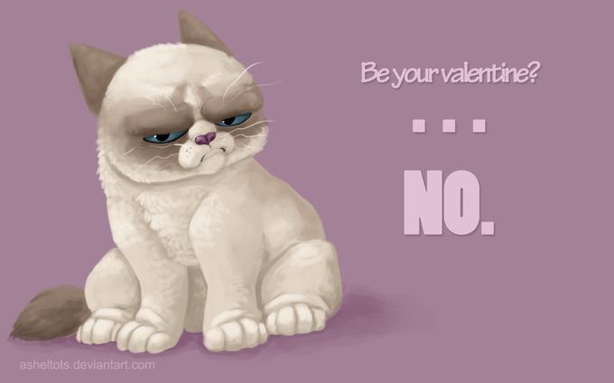Grumpy Cat Denies Your Love