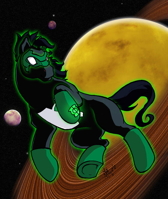 Green Lantern Kyle Rayner G1 ponified