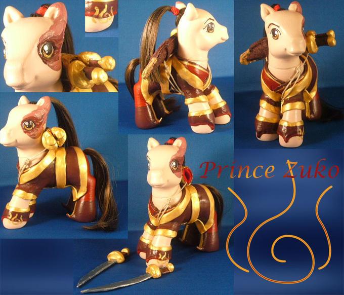 Prince Zuko pony custom
