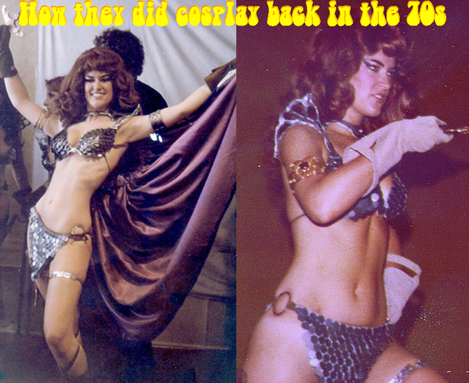 How they did cosplay back in the 70s