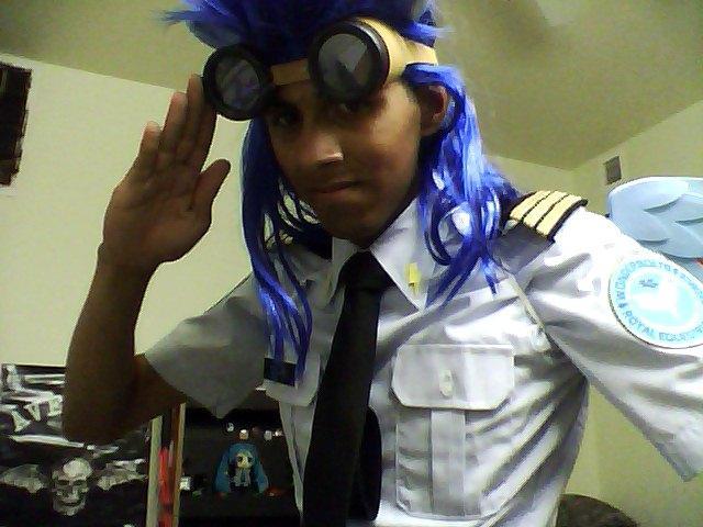 my wonderbolts dress uniform (still working on the flight suit)