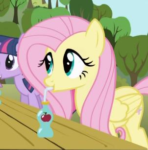 She's drinking tears of Alicorn Twilight drama you know.