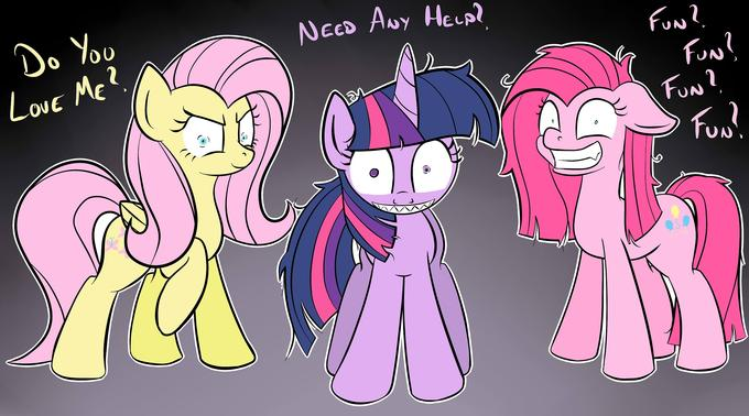 Crazy Ponies