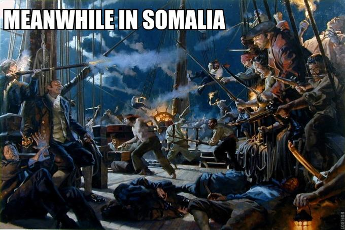 """A Pirate's Life for Me"" should probably be the Somalian national anthem by now......"