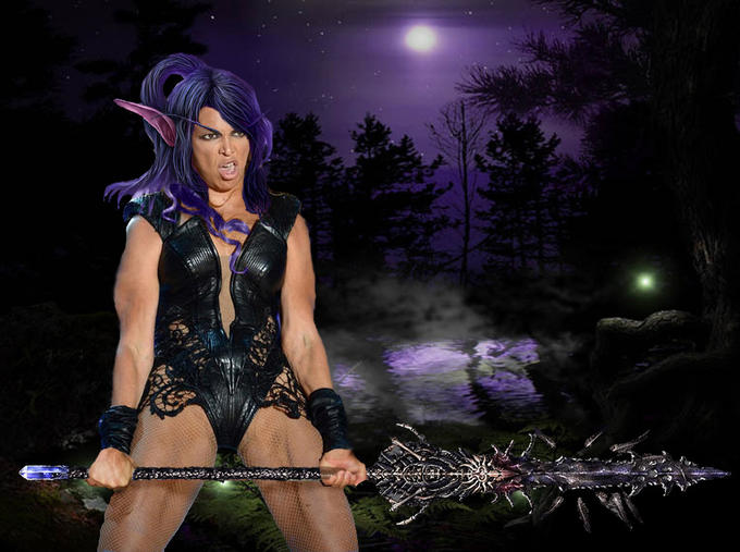 Night Elf Beyonce