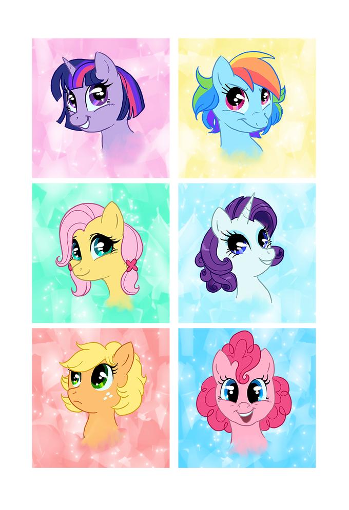 Short Hair Ponies