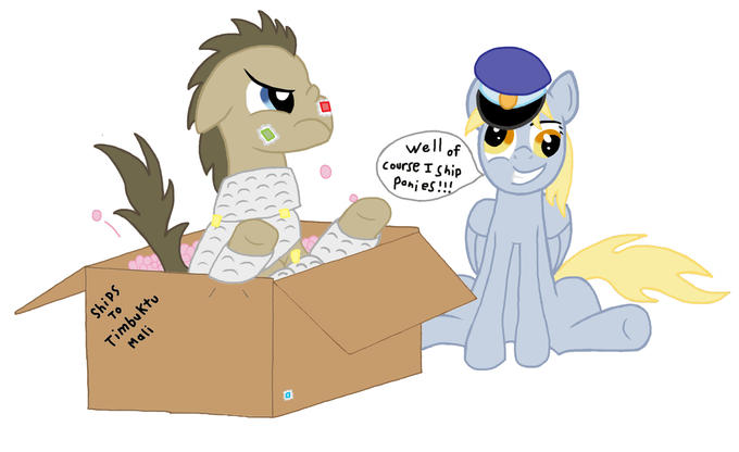 Derpy, the expert shipper