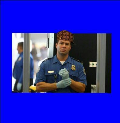Scumbag TSA agent