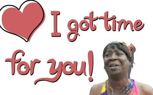 Sweet Brown Valentine's Day Card