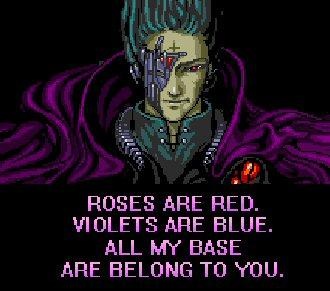 All Your Bases Valentine Poem Card