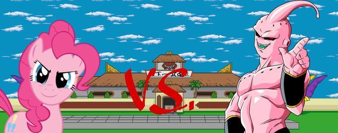 Pinkie Pie vs. Majin Buu