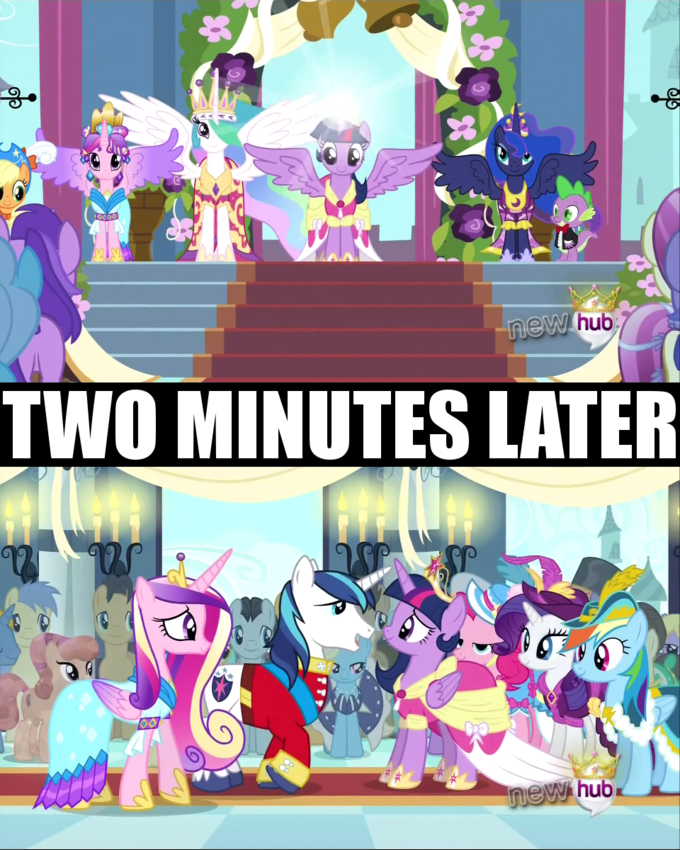 Cadance you had one job...