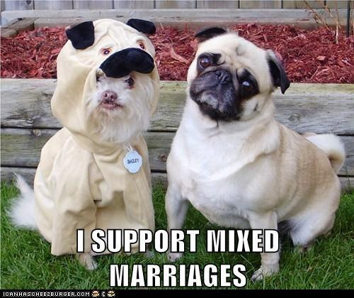 I Support Mixed Marriages