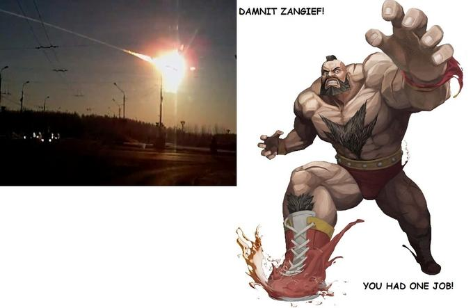 Zangief Fail