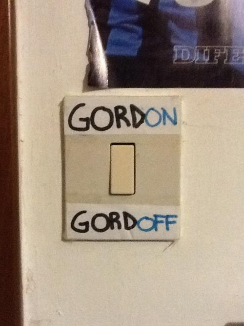 Gordon's Name Puns