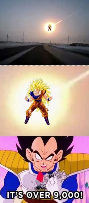 Goku visits Russia!