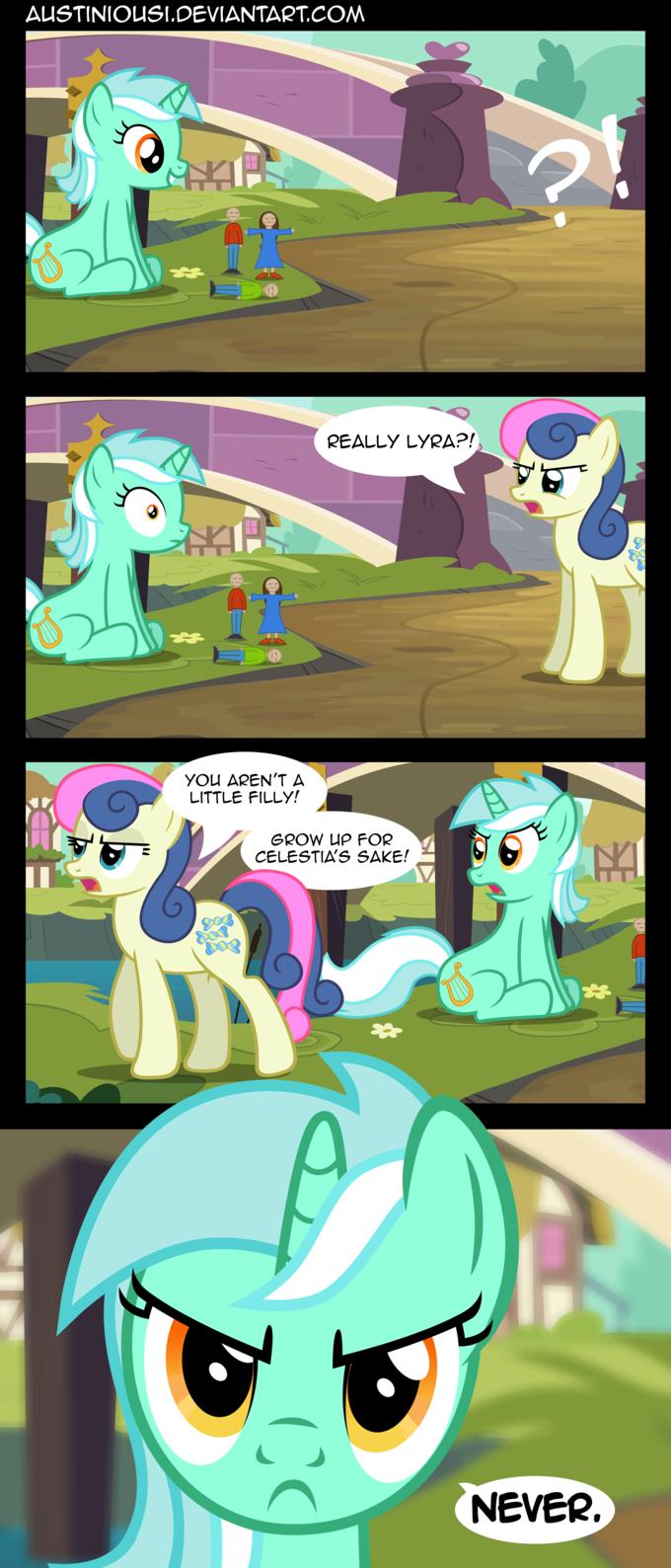 Lyra has no shame