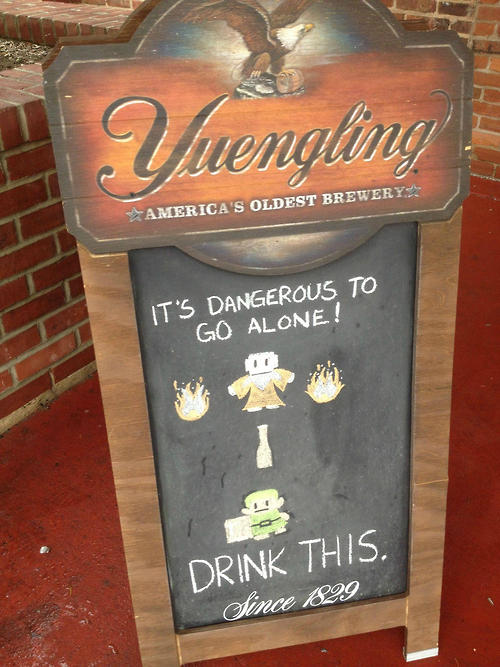 Yuengling? More like Yeung-Link!