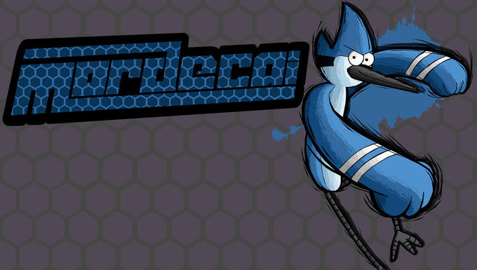 Mordecai Fighting is Magic Fan Art