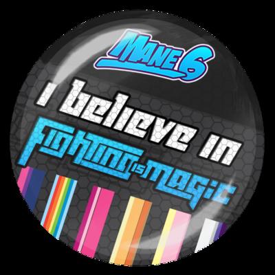 I believe in Fighting is Magic