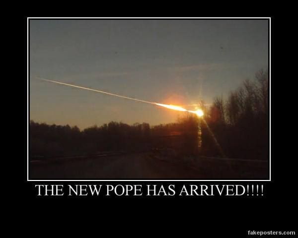 THE NEW POPE HAS ARRIVED