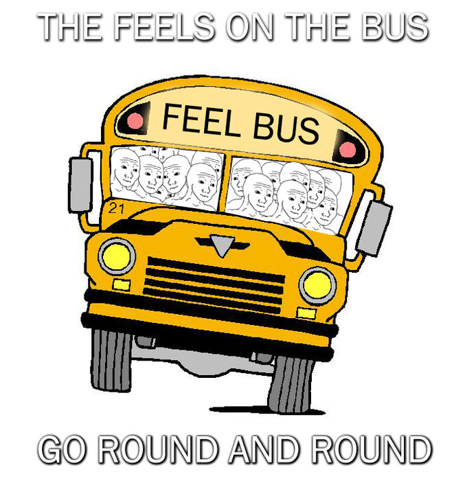 The feels on the bus go round and round