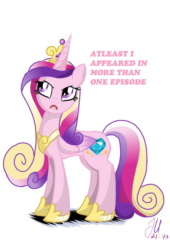 Annoyed Princess Cadence
