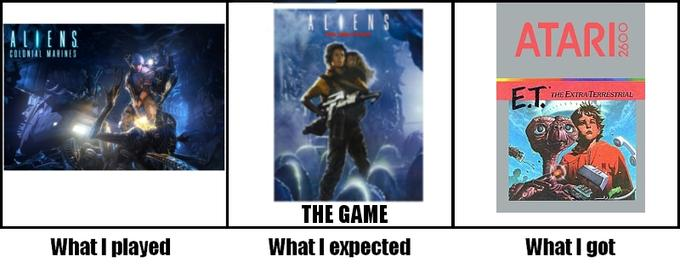 Aliens Colonial Marines is this generation's ET.