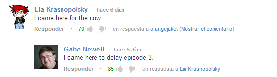 Gaben newell in youtube