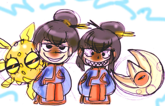 Demonic Pokemon gym leaders