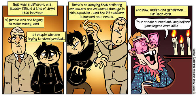 Penny Arcade - Piracy Lampoon Part 3