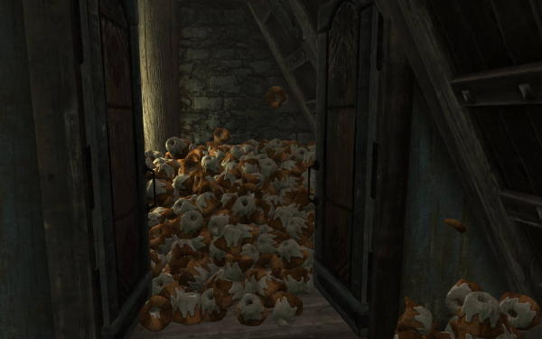 Let me guess, someone stole your sweetroll?
